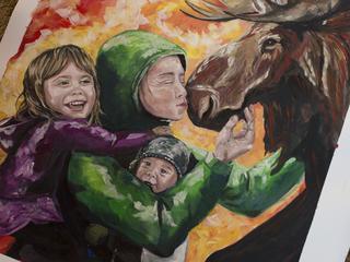 artwork by Apayo Moore