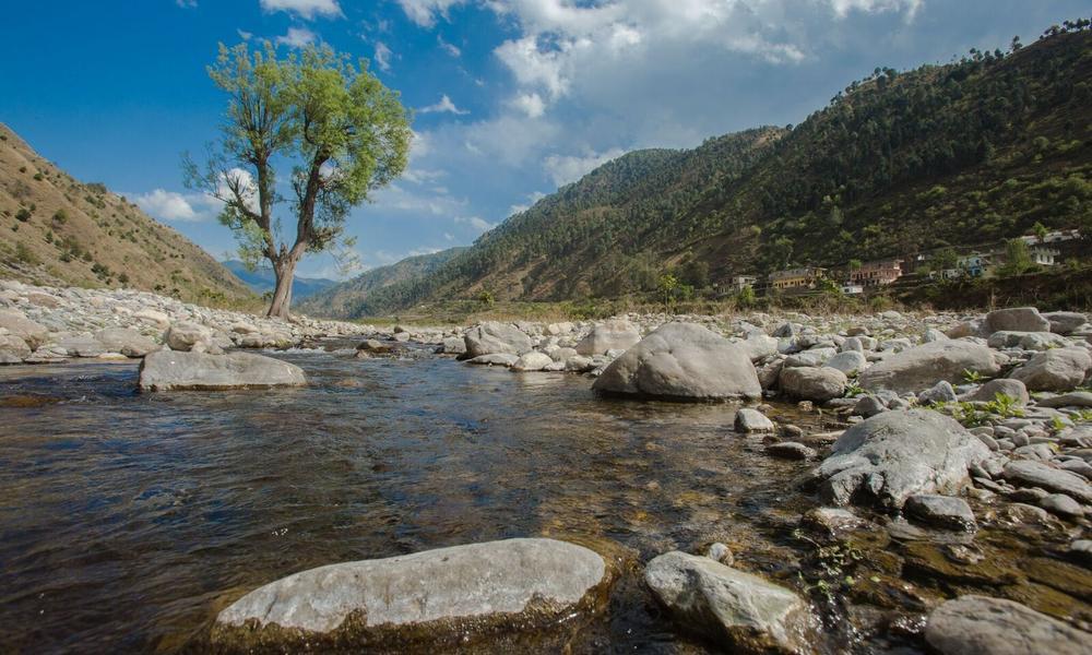 River in India
