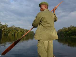 ranger in Salonga National Park