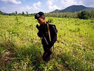 ranger in field
