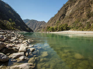 River Ganga, near Rishikesh, India