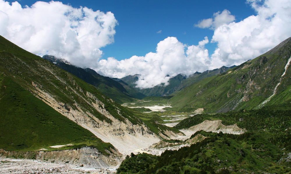Thanza valley, Bhutan, Eastern Himalayas