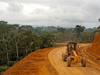 Road development in Gabon