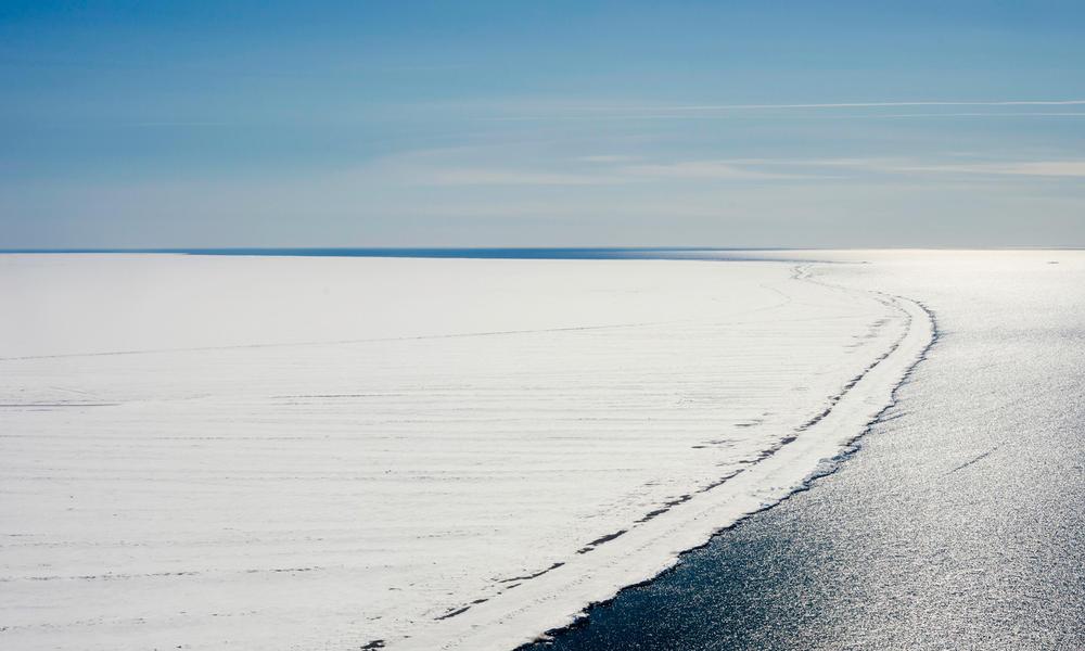 Arctic ice summer2017