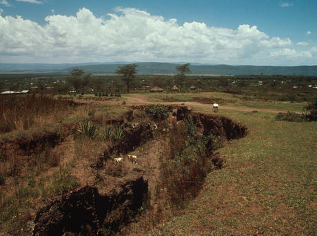 Soil erosion in Kenya