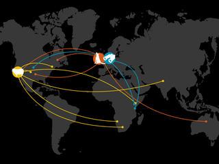 Wildlabs Map
