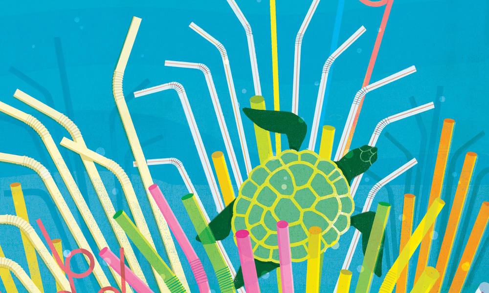 A small straw's big environmental impact