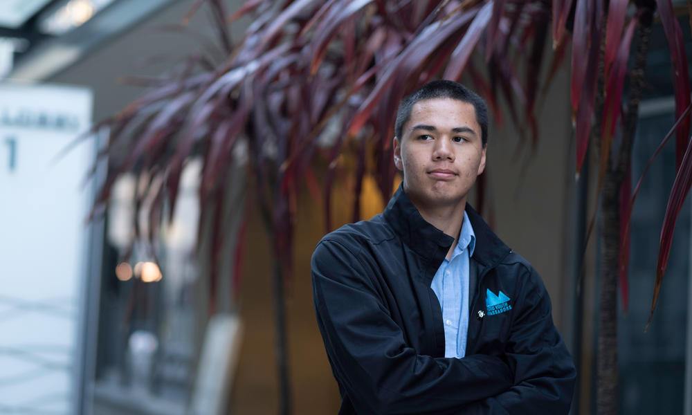 From the front lines of climate change, Arctic Youth Ambassador Gabriel Stenek shares one village's story