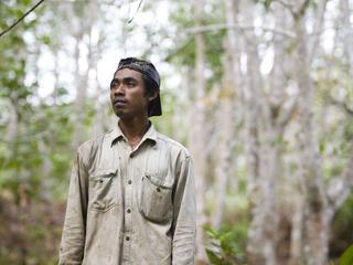 Didik, resident of Long Pahangai, Borneo