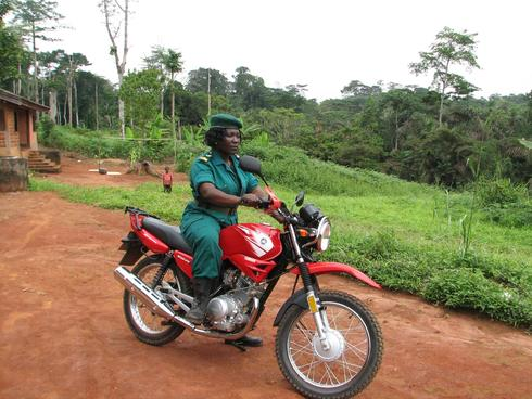 Mary Ashu is a ranger at Cameroons Dja Biosphere Reserve, a UNESCO World Heritage Site. Her mantra, stand by the law at all cost, and unflinching firmness earned her the nickname Firebrand.