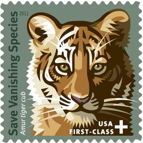 Save vanishing species stamp large