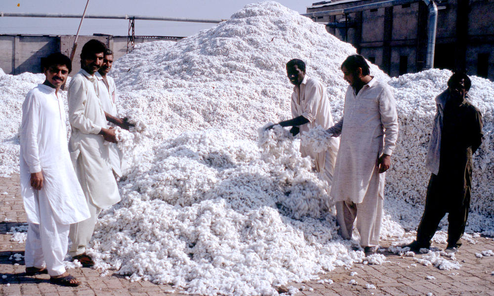 Cotton factory, Faisalabad, Pakistan.