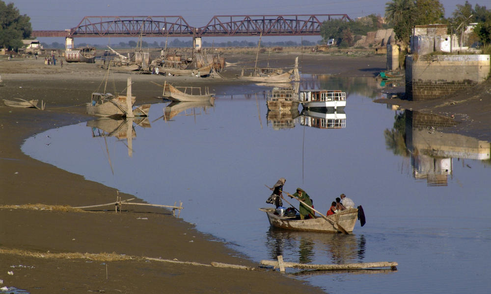 Indus River, Sind, Pakistan