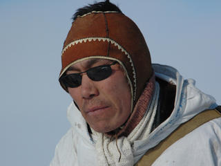 Sergey Kavriy, polar bear patrol