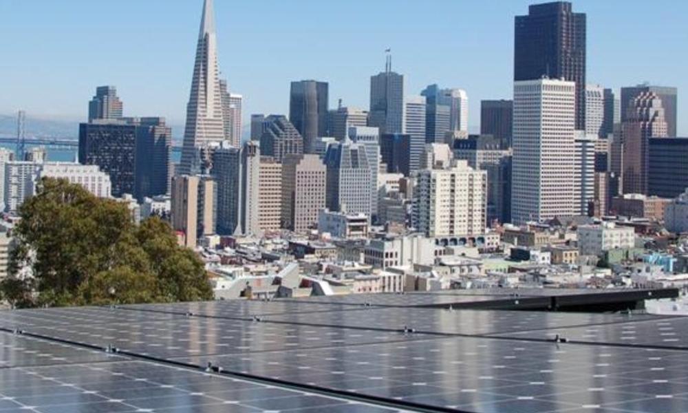 San Francisco Solar Panels Skyline