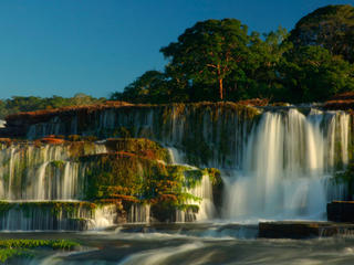 Waterfall in Brazil