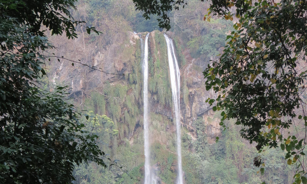 Waterfalls in Manas