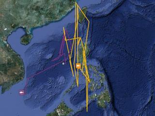 Tuna Tagging Map