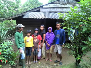 Asep and family
