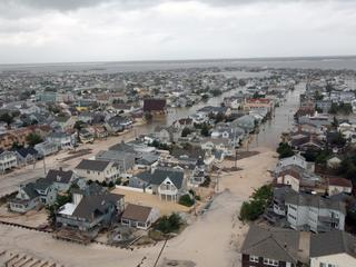 Hurricane Sandy Damage along the New Jersey coast