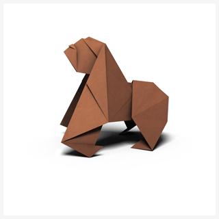 Orangutan origami