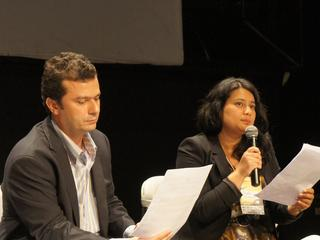 WWF's Dekila Chungyalpa at World Youth Day panel