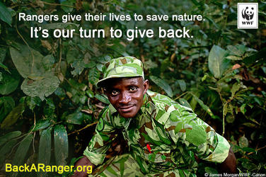 Rangers give their lives to save nature. It's our turn to give back.