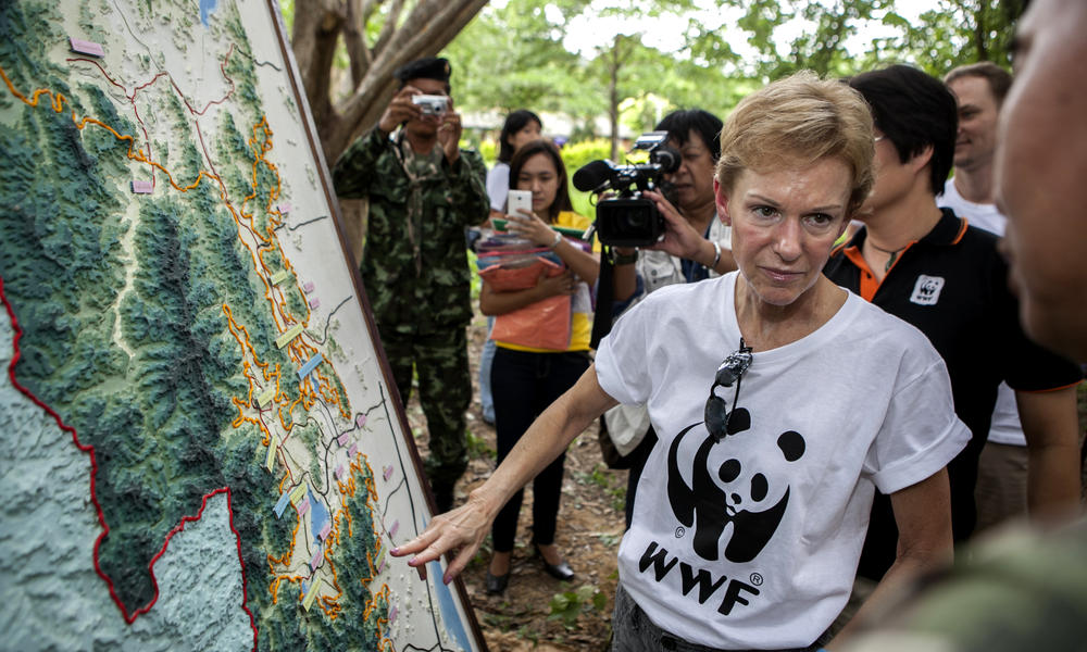 U.S. Ambassador Kristie Kenney in Kui Buri