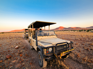 jeep Namibia rhino tracking travel