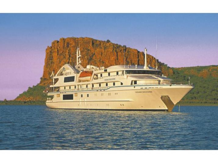 Oceanic Discoverer ship TRAVEL ONLY