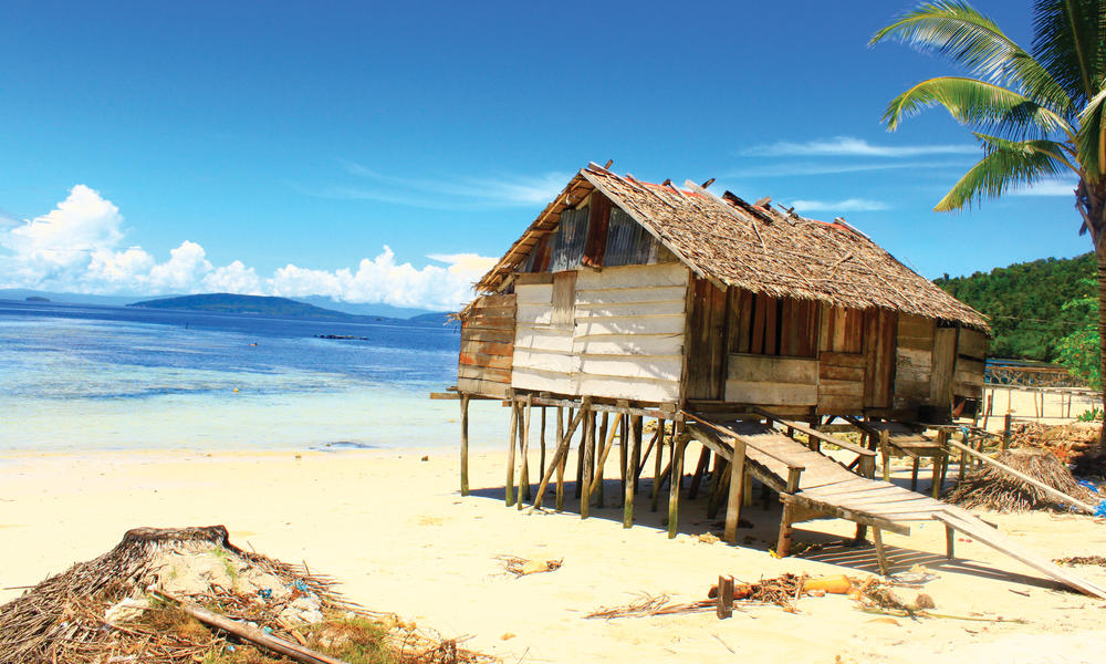 House in Bird's Head Seascape, West Papua, Indonesia