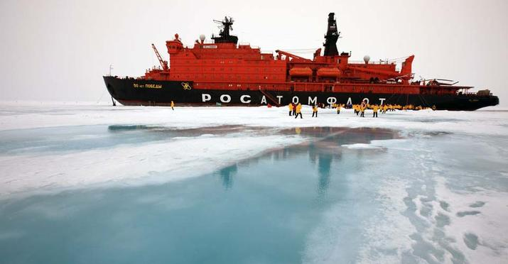 50 years of victory ship north pole landscape TRAVEL ONLY