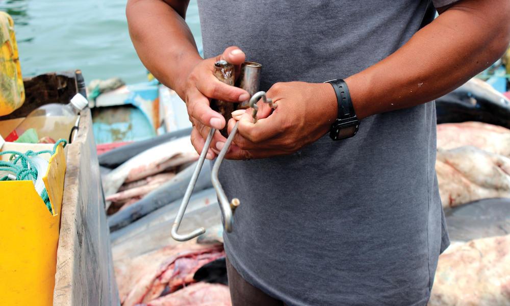 fishing clamp