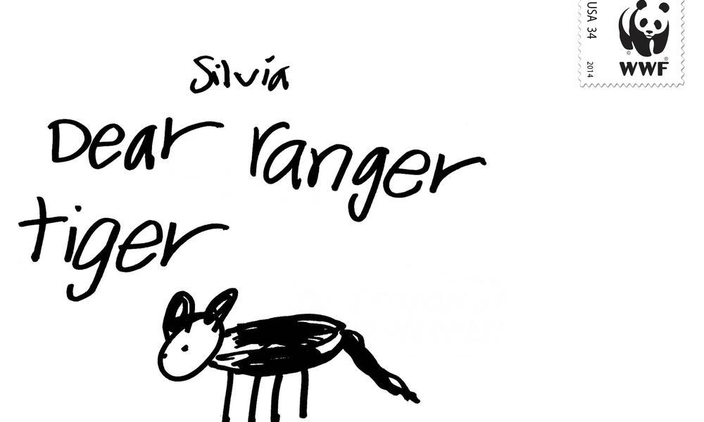 postcard to ranger