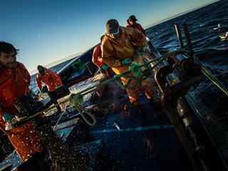 fishermen in chile