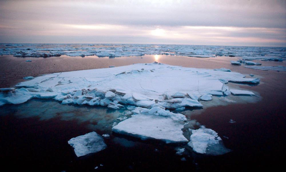 Sea ice, Alaska