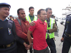 Arrested nepal poacher i