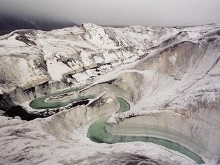 tien shan glacier