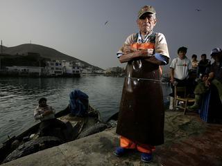 pucusana fisherman