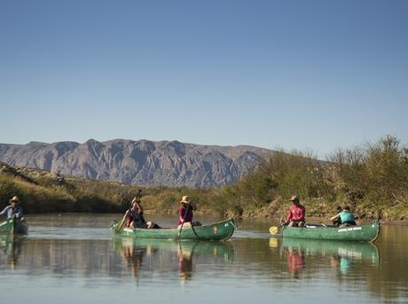 Canoes in Big Bend National Park