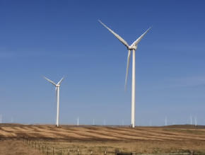 windfarm in the northern great plains