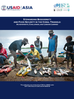 Stewarding Biodiversity and Food Security in The Coral Triangle: Achievements, Challenges, and Lessons Learned Brochure