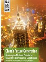 China's Future Generation: Assessing the Maximum Potential for Renewable Power Sources in China to 2050 Brochure