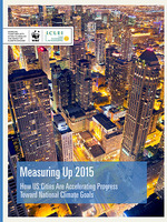 Measuring Up 2015: How US Cities Are Accelerating Progress Toward National Climate Goals Brochure